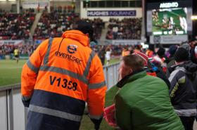 Image taken at Kingspan Stadium, Belfast during Ulster Rugby vs Zebre Rugby match