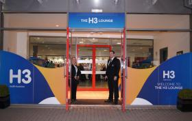 Image taken at Kingspan Stadium, Belfast at the entrance to The H3 Lounge