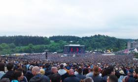 Image taken at Slane Castle during the Guns 'N' Roses show on the 27th May 2017.