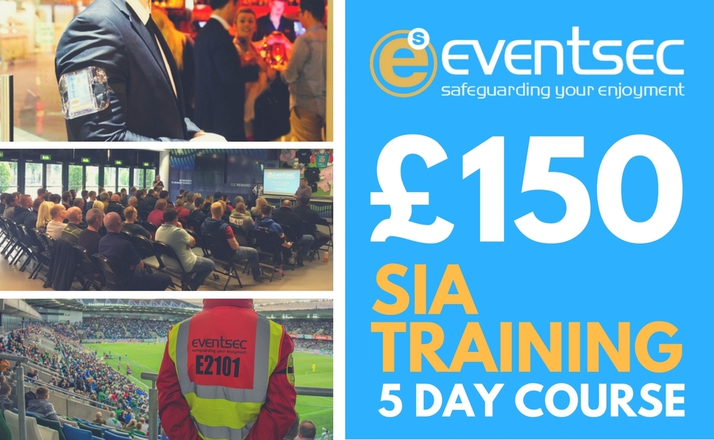 SIA Door Supervisor Training - BOOK NOW!  sc 1 st  Eventsec & SIA Door Supervisor Training - BOOK NOW! - Eventsec